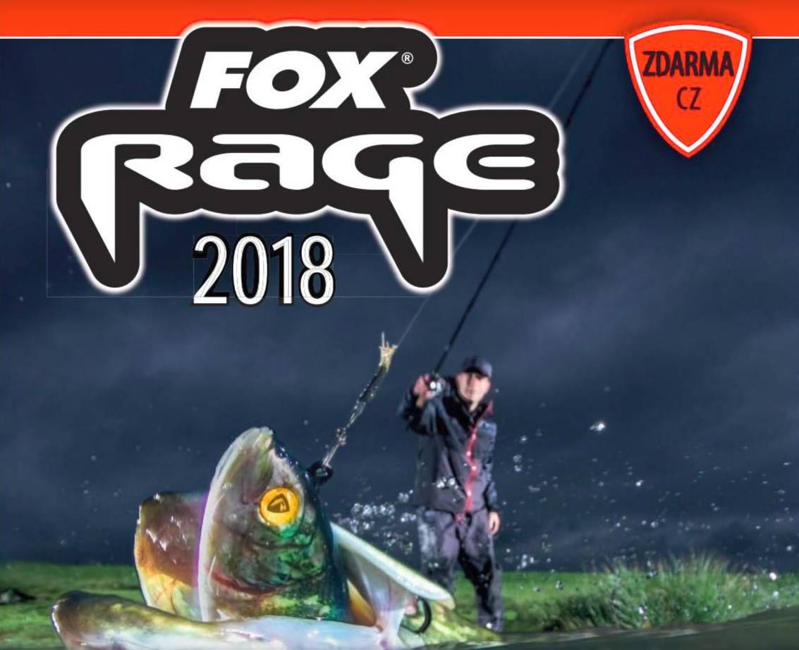 Katalog FOX Rage 2018